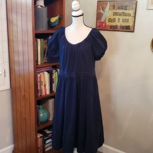 EShakti Navy Dress Size 1X